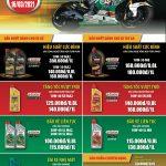 Bảng giá dầu nhớt castrol